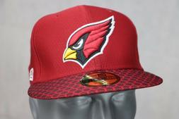 Men's Arizona Cardinals New Era Red 2017 Sideline Official 5