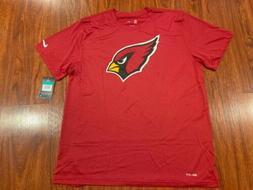 Nike Men's Arizona Cardinals Logo Essential Jersey Shirt E