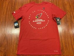 Nike Men's Arizona Cardinals Property Of Jersey Shirt Medi