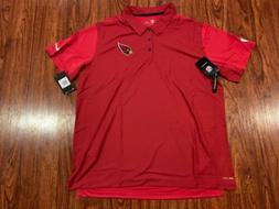 Nike Men's Arizona Cardinals Team Issue Polo Jersey Shirt