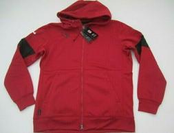 mens large arizona cardinals onfield therma hoodie