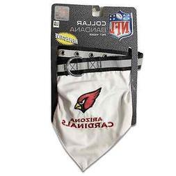 NEW Arizona Cardinals Pet Bandana Collar Large Adjustable