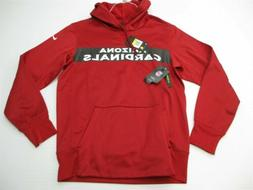 new NIKE Hoodie Men's Size S THERMA NFL ARIZONA CARDINALS Pu