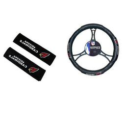 New NFL Arizona Cardinals Car Truck Steering Wheel Cover Sea