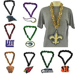 New NFL PICK YOUR TEAM Fan Chain Necklace Foam Magnet - 2 in