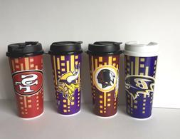NFL 16oz Team Color Insulated Travel Tumbler Coffee Mug