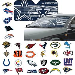 NFL 32 Teams Available Car Truck Front Windshield Accordion
