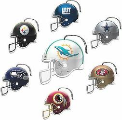 NFL  Air Fresheners ,, 3 Pack,  FOR YOUR CAR,,  GREAT  STOCK