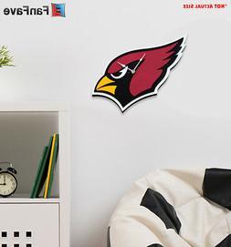 New NFL Arizona Cardinals Home Decor EVA Foam 3D Wall Clock