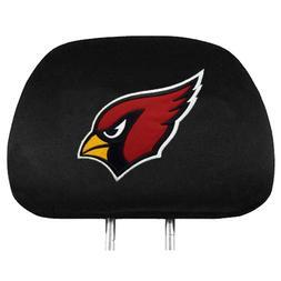 NFL Arizona Cardinals Auto Headrest Covers, 2 Pack