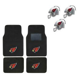 NFL Arizona Cardinals Car Truck Carpet Floor Mats & Hanging