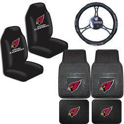 NFL Arizona Cardinals Car Truck Seat Covers Floor Mats & Ste