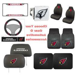 NFL Arizona Cardinals Choose Your Gear Auto Accessories Offi