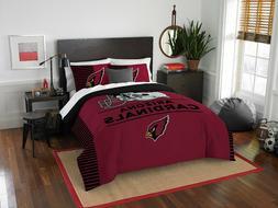 NFL Arizona Cardinals Draft Full/Queen Comforter and 2 Sham