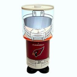 NFL Arizona Cardinals Game Night Logo Rotating Desk Lamp Ill