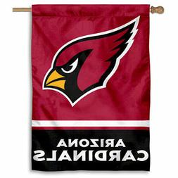 nfl arizona cardinals house flag and banner