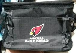 NFL Arizona Cardinals Insulated Lunch Cooler Bag with Zipper