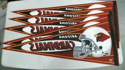 NFL Arizona Cardinals Lot of 5 Excellent Condition Pennants,