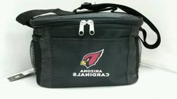 NFL Arizona Cardinals Lunch Bag - Insulated Box Tote - 6-Pac