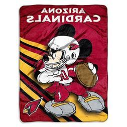 NFL Arizona Cardinals Mickey Mouse Ultra Plush Micro Super S
