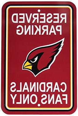 NFL Arizona Cardinals Plastic Parking Sign