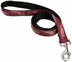 "Littlearth NFL Arizona Cardinals Team Pet Ribbon Leash 60"""