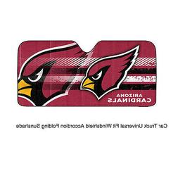 NFL Arizona Cardinals Universal Auto Shade, Large, Red
