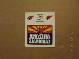 NFL Arizona Cardinals Vintage Circa 2000's 4 Team Logo Stick