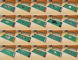 NFL Field Runner Mat Area Rugs - Choose Your Team