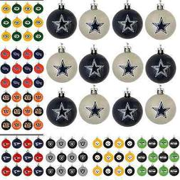 NFL Football Christmas Tree Decor Holiday Mini Plastic Ball