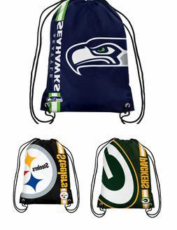 NFL Football Team Logo Drawstring Backpack - Pick Your Team!