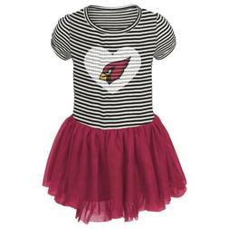 nfl girls infant arizona cardinals celebration sequin