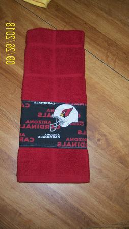 NFL Hand Made Arizona Cardinals  Bathroom Hand Towel