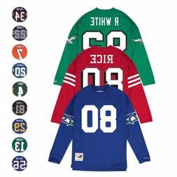 NFL HOF LEGENDS Long Sleeve MITCHELL & NESS Jersey Inspired