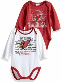 nfl infant arizona cardinals long sleeve bodysuit