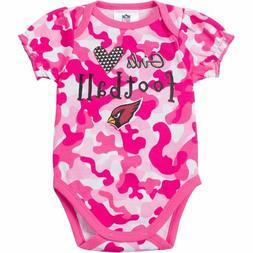 Gerber NFL Infant Girls Arizona Cardinals Camo Bodysuit