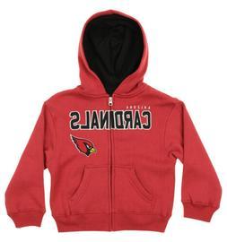 "Outerstuff NFL Kids Arizona Cardinals ""Stated"" Full Zip Hood"