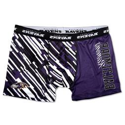NFL Men's Wordmark Compression Boxer Shorts Underwear- Pick