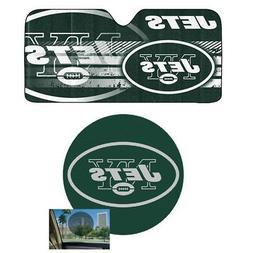 NFL New York Jets Car Truck Windshield Folding SunShade & Pe