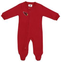 OuterStuff NFL Newborn Team Color and Logo Fleece Sleeper, A