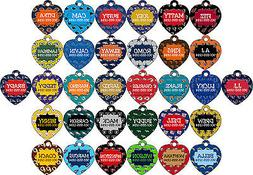 NFL Pet Id Tag for Dogs & Cats Personalized w/ Your Pet's Na