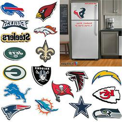 NFL Pick Your Team 32 Teams 3-D Foam Magnet Home Office Bar