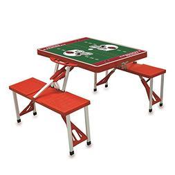 NFL Picnic Table Sport Color: Red, NFL Team: Arizona Cardina