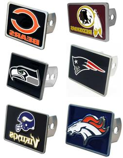NFL Team Rectangle Trailer Hitch Cover  * Pick Your Team *