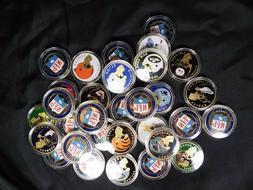 NFL Team Souvenir Challenge Coins