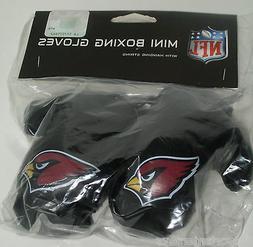 NIP NFL 4 INCH MINI BOXING GLOVES - ARIZONA CARDINALS