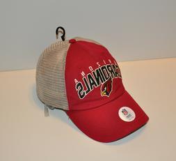 NWOT Arizona Cardinals Mens Trucker Snapback Cap Hat  Jersey
