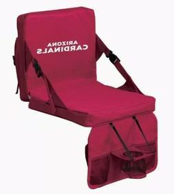 NWT AZ ARIZONA CARDINALS FOLDING FOOTBALL STADIUM SEAT NFL C