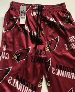 nwt mens medium arizona cardinals sleep wear