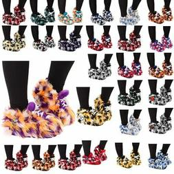 Officially Licensed NFL Plush Fuzzy Sneaker Slippers 492216-